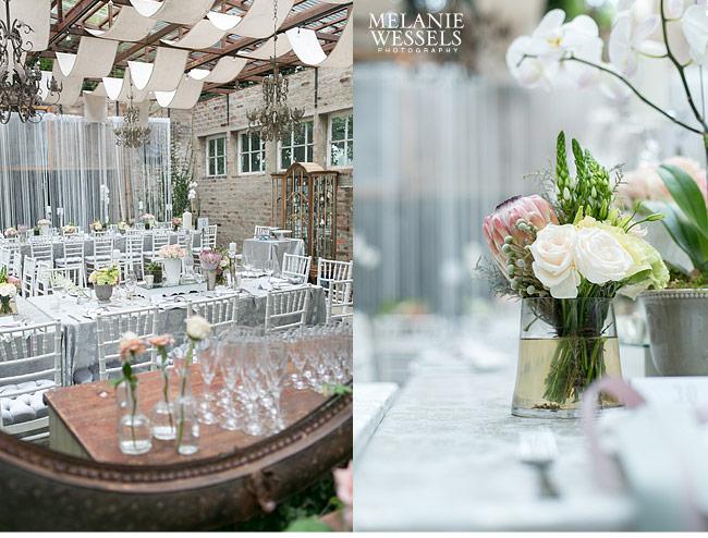 Protea wedding decor for Wedding decorations