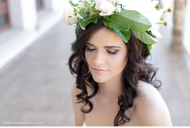Melissa Minne bridal hair and make up
