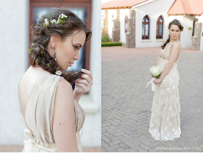 Bohemian glamour styled shoot Melanie Wessels